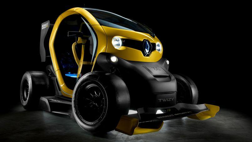twizy renault sport f1 une bombe lectrique. Black Bedroom Furniture Sets. Home Design Ideas