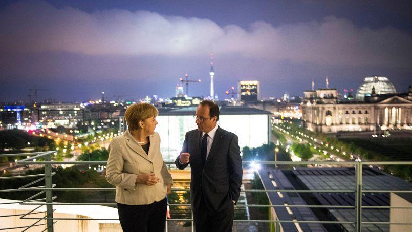 Les socialistes français fustigent «l'intransigeance égoïste de la chancelière Merkel».
