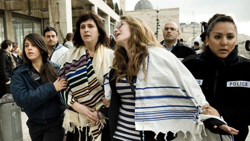 Les militantes de Femmes du mur se rendent tous les mois au Mur des Lamentations pour demander le droit de pouvoir prier comme les hommes.
