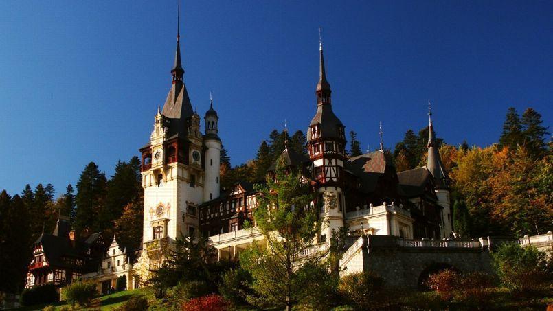 L'incroyable château de peles.