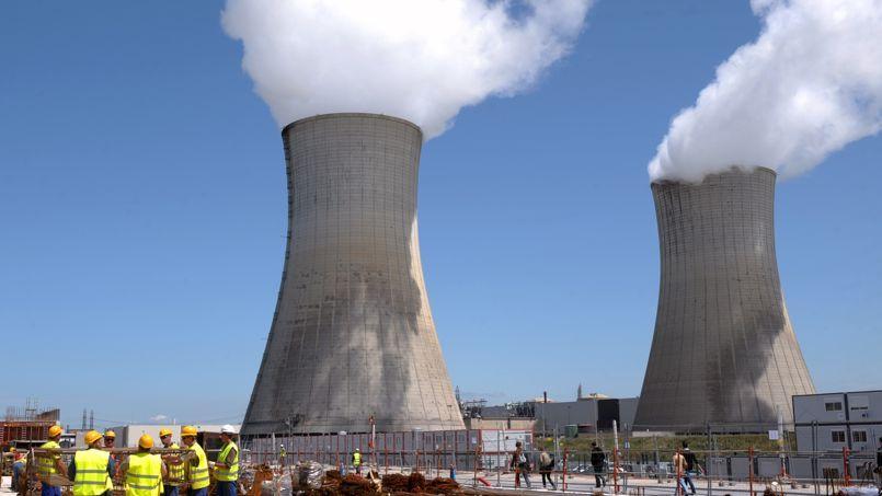 Deux centrales nucléaires Areva à Bollène (illustration).