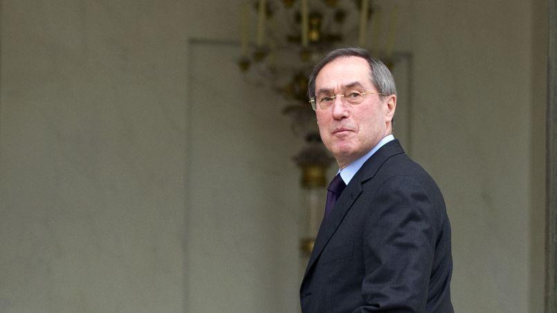Claude Guéant, lorsqu'il était ministre de l'Intérieur, en avril 2012 à Paris.
