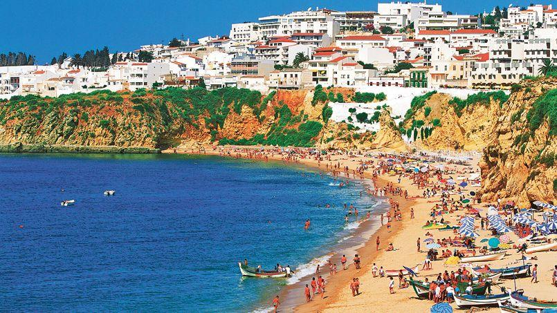 Plage de l'Algarve.