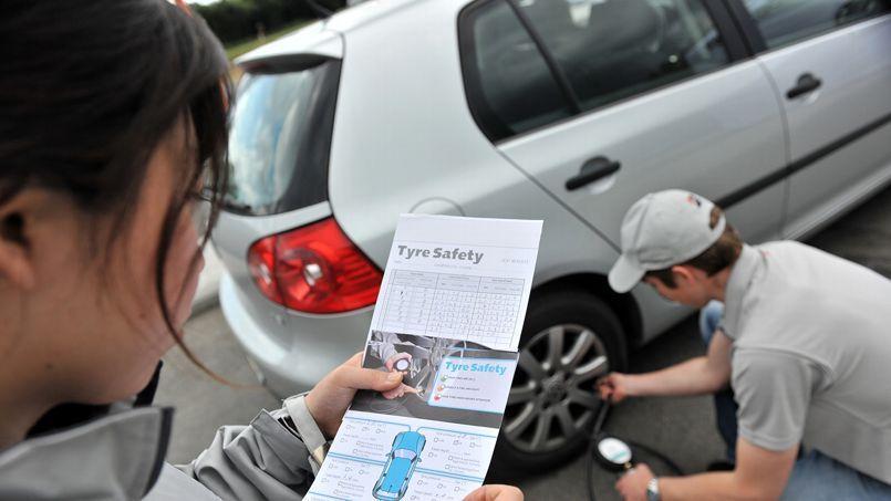 L'étude réalisée par Bridgestone repose sur 28.000 contrôles de pneus pratiqués en 2012.