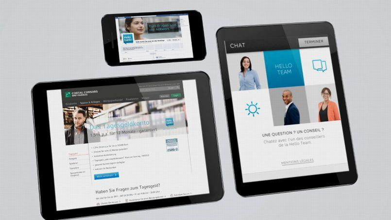 BNP Paribas lance sa banque digitale