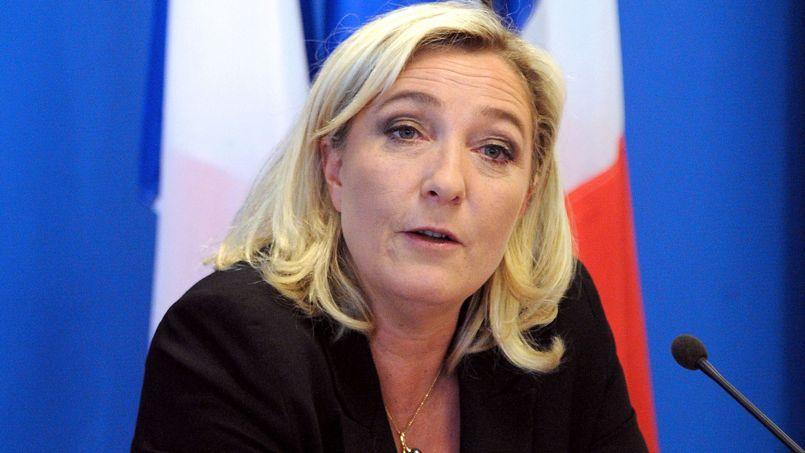 Marine Le Pen, le 26 mars dernier.