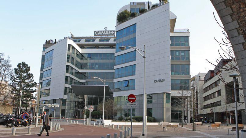 Le siège de Canal+, à Issy-les-Moulineaux, près de Paris.