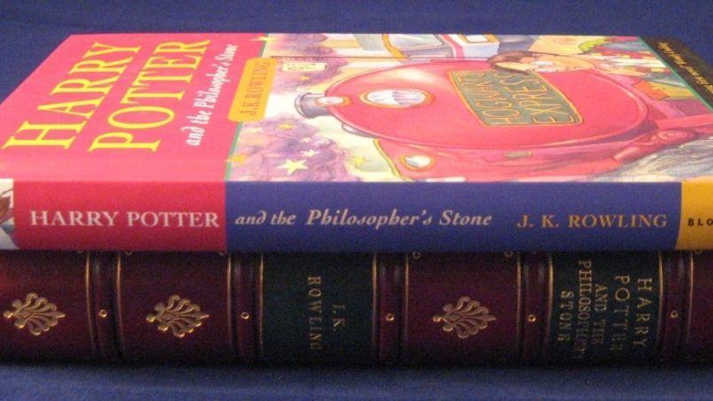 Il n'existe que 500 exemplaires de la première édition du livre Harry Potter à l'école des sorciers (Crédit photo: Buderim Rare Books).