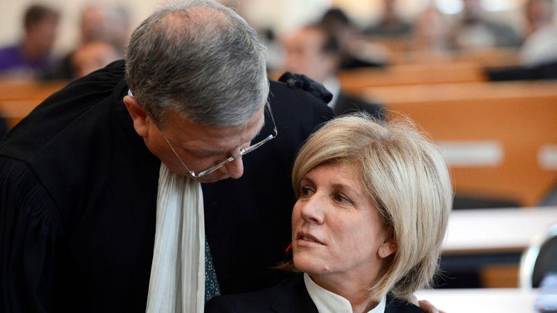 Sylvie Andrieux a réfuté les accusations portées contre elle lors de son procès en mars.