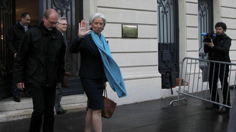 Christine Lagarde, directrice générale du FMI, est auditionnée dans le cadre d'une enquête ouverte pour «complicité de faux et détournement de fonds publics».