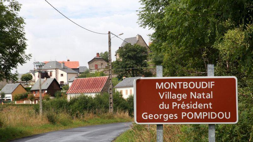 Montboudif, dans le Cantal, abrite la maison natale de Georges Pompidou.
