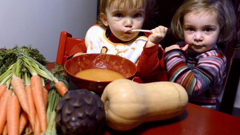 La carotte était le légume le plus reconnu par les enfants.