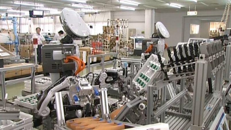 Ces robots fournissent 80% de la productivité d'un humain.