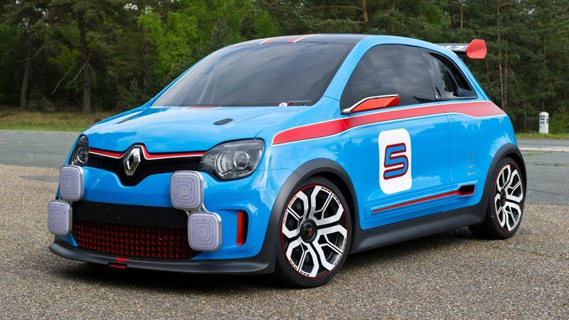 Renault Twin'Run: la future Twingo en tenue de sport