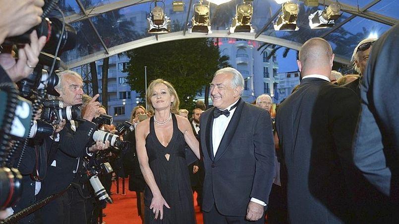 Dominique Strauss-Kahn et Myriam L'Aouffir.