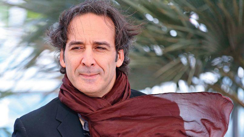 Alexandre Desplat le 25 mai sur la Croisette, à Cannes, où il est venu défendre La Vénus à la fourrure, de Polanski, en compétition.