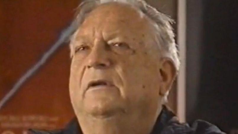 Jack Vance en 2009 invité dans une émission de TV Ontario. (Capture d'écran You Tube)
