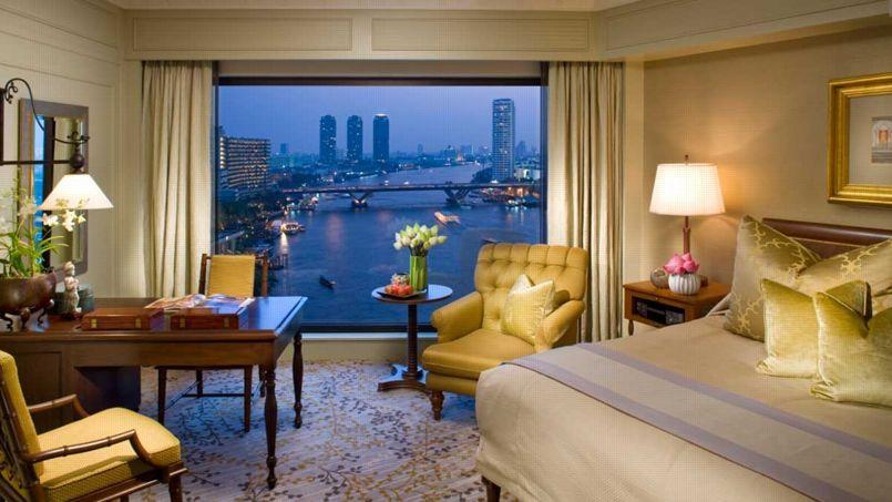 Vue d'une chambre de L'Oriental, à Bangkok. (Mandarin Oriental)