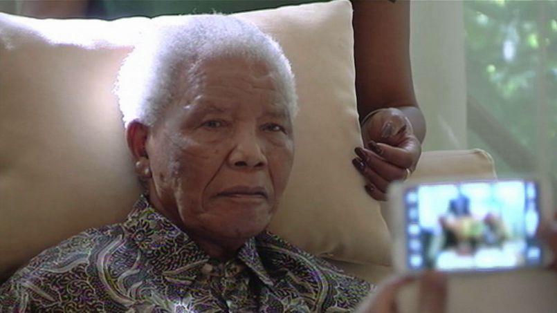 Les dernières images de Mandela ont filtré dans la presse en avril dernier.