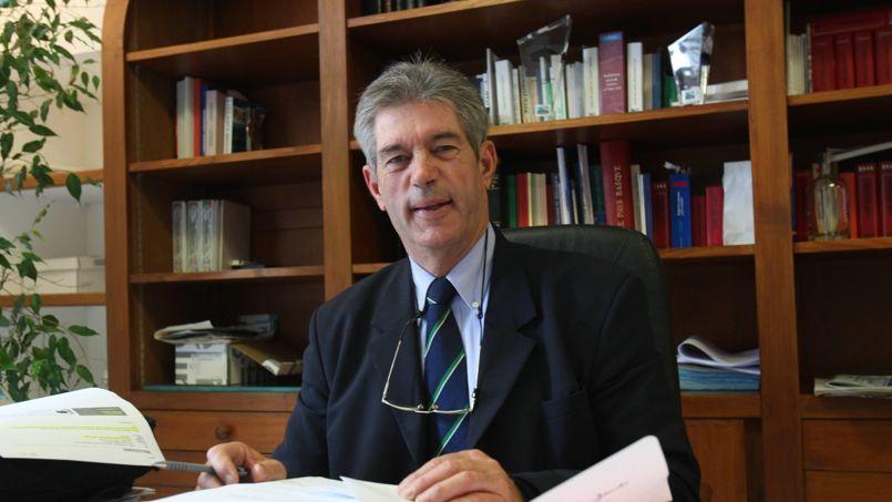 Jean-Michel Colo, maire divers droite d'Arcangues, dans les Pyrénées-Atlantiques.