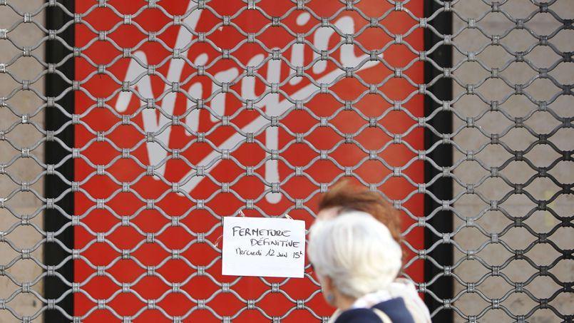 La direction de Virgin Megastore a annoncé mercredi, en milieu d'après-midi, la fermeture de ses 26 magasins «pour des raisons de sécurité».