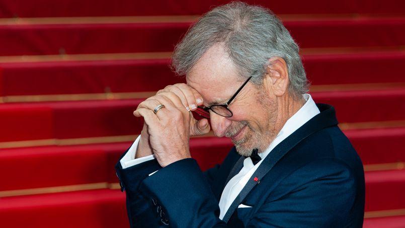 Steven Spielberg lors du Festival de Cannes en mai 2013.
