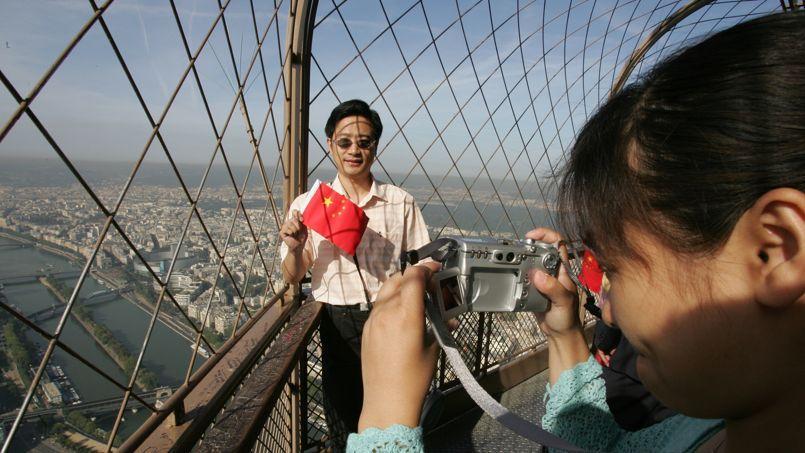 En 2012, le nombre de touristes chinois avait enregistré une hausse de 23,9%.