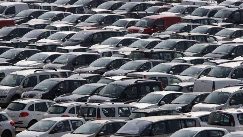 La croissance du parc de voitures particulières, qui dépassait encore 2% entre les années 1998 et 2002, est désormais inférieure à 1%. Crédit: Jean-Christophe Marmara/Le Figaro