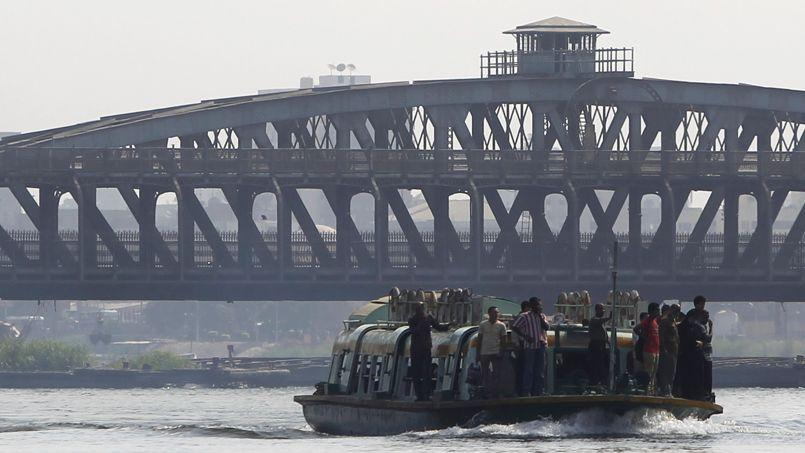 Le partage des eaux du Nil est l'objet d'un vieux contentieux entre l'Égypte et l'Éthiopie. Ici, au Caire.