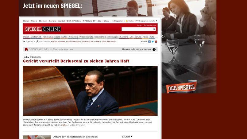 «Google et Google News sont de précieux instruments pour consulter Spiegel Online, a indiqué l'hebdomadaire.