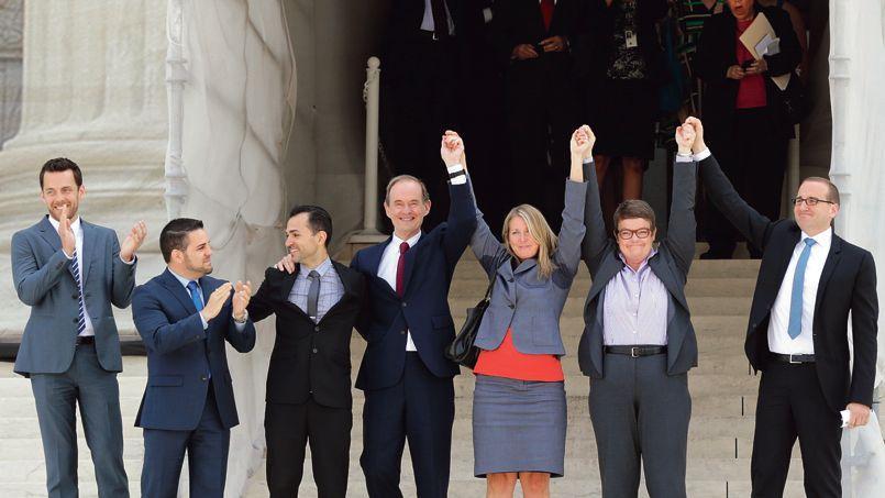 Tats unis le mariage gay l 39 emporte la cour supr me for Haute juridiction