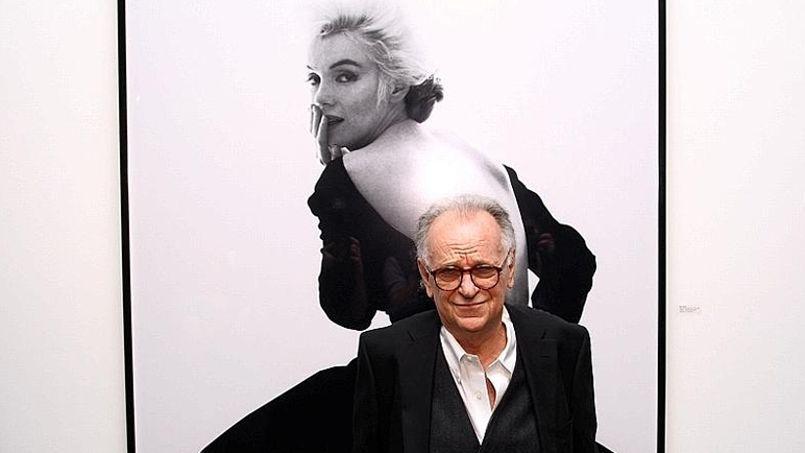 Bert Stern à la Milk Gallery en novembre 2011.
