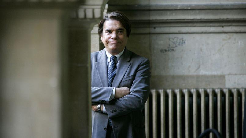 Bernard Tapie en octobre 2005 au tribunal de Paris.