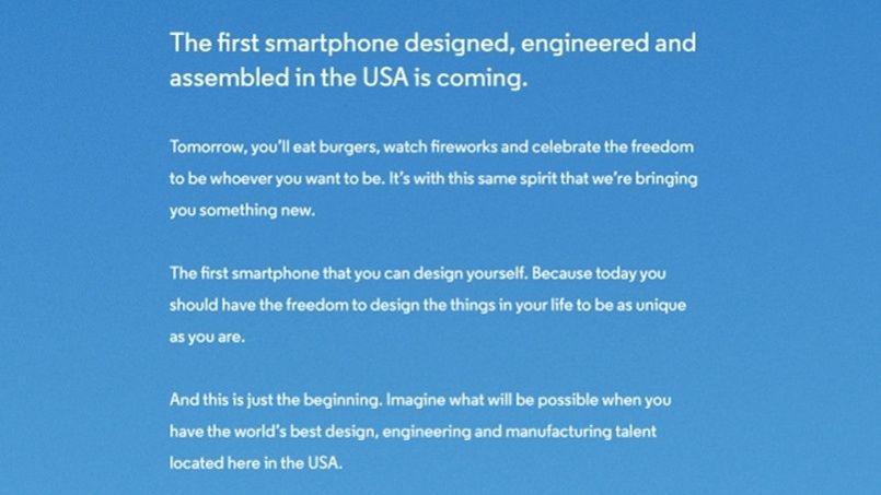 La publicité de Motorola parue dans la presse américaine.