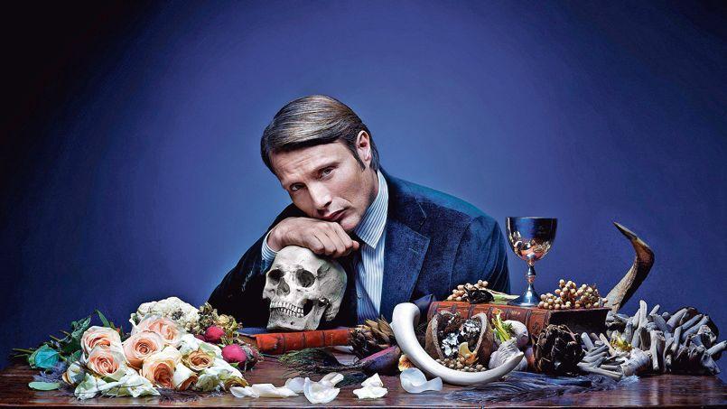 Mads Mikkelsen joue Hannibal Lecter dans la série Hannibal produite par Gaumont international et diffusée sur Canal+ Séries.