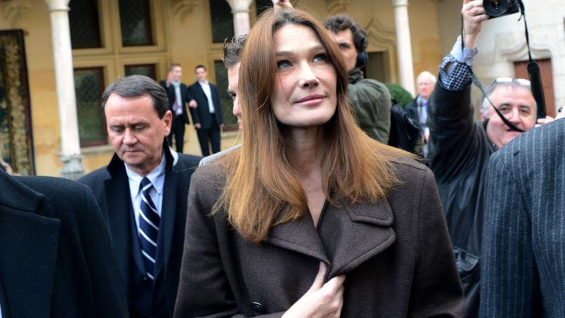Carla Bruni-Sarkozy aux Hospices de Beaune le 18 novembre.