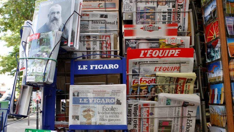 Le fondateur de Troc de Presse veut «favoriser simplement le lien social que l'on n'ose parfois plus retisser.» Crédits photo: JEAN BAPTISTE FAUQUET / Le Figaro