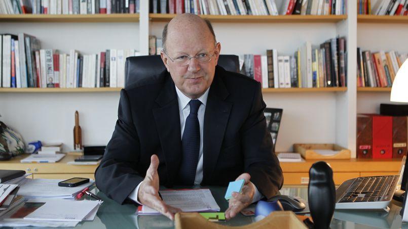 Rémy Pflimlin, président de l'entreprise publique, se veut serein.