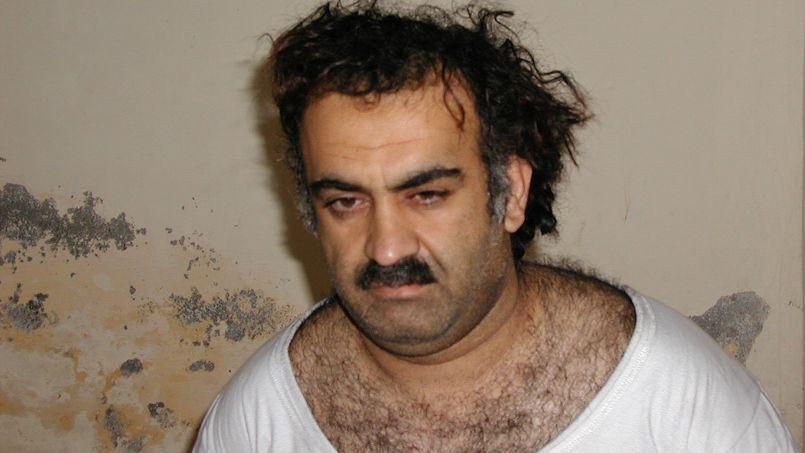 Khalid Cheikh Mohammed, peu après sa capture en 2003