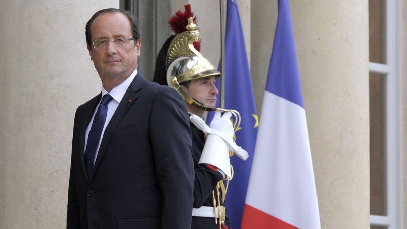«La reprise économique, elle est là», a rappelé François Hollande..