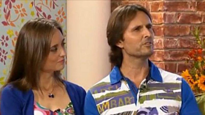 Capture d'écran de l'émission de télévision This Morning.