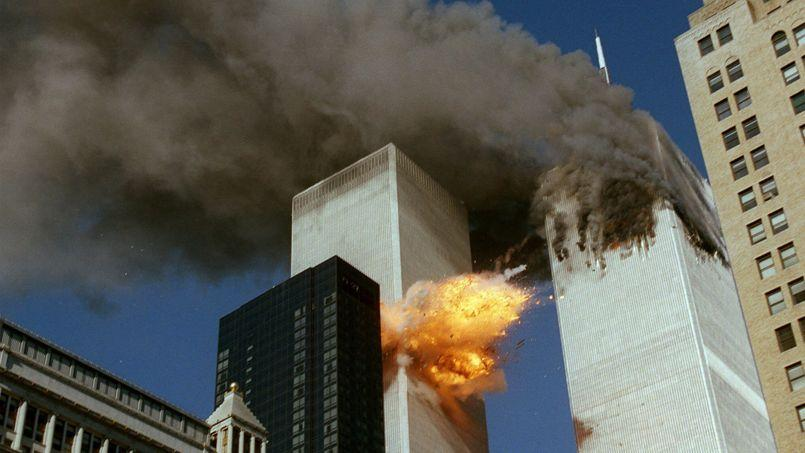 Le World Trade Center, le 11 septembre 2001.