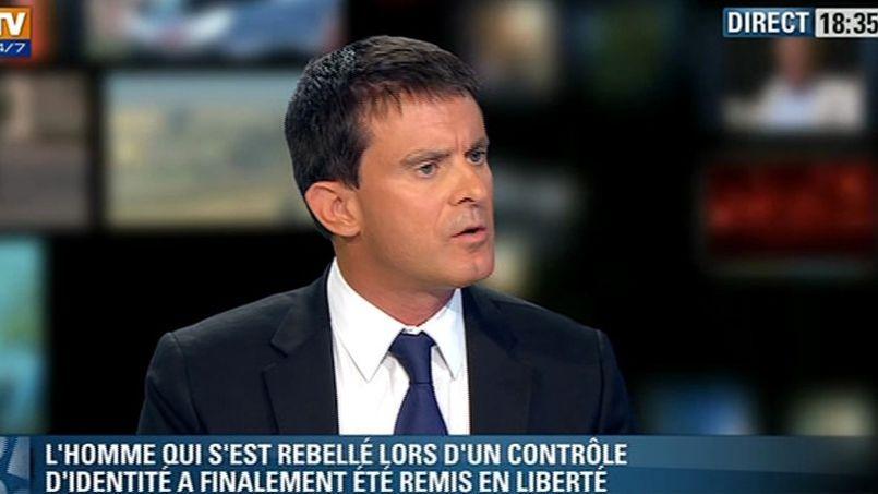 Manuel Valls sur BFMTV dimanche soir