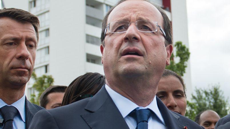 François Hollande s'est rendu à Clichy-sous-Bois pour promouvoir ses emplois francs.