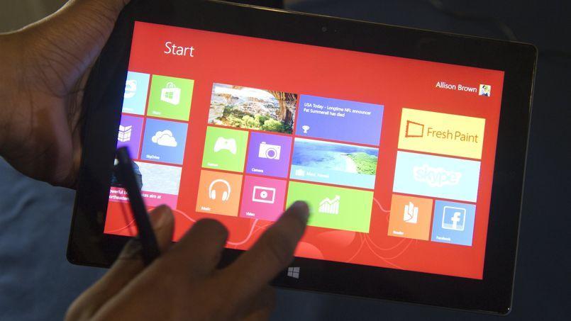 La tablette Surface Pro est en vente depuis octobre 2012.