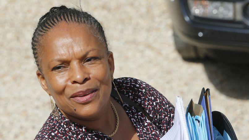 Christiane Taubira, la garde des Sceaux, le 2 août.