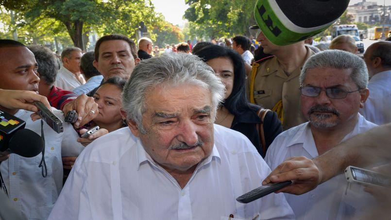 Le président de l'Uruguay, José Mujica, en juillet.