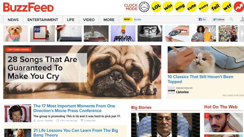 L'équipe éditoriale de BuzzFeed, site de divertissement et d'information prisé des jeunes Américains, propose aux annonceurs d'écrire des articles sponsorisés sur le même modèle que leurs articles classiques.