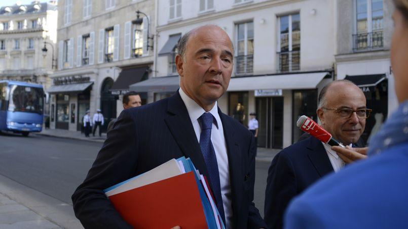 Pierre Moscovici arrive lundi à l'Elysée pour le seminaire du gouvernement sur la France en 2025.