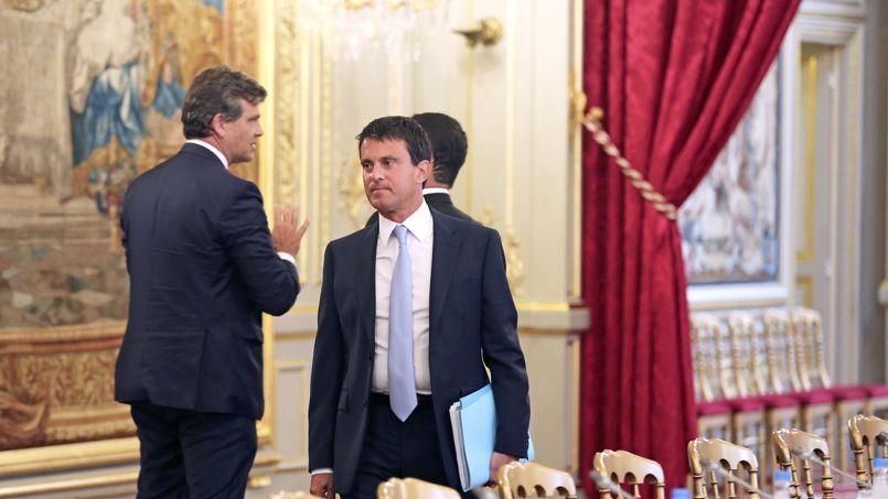 Manuel Valls, lundi, lors du séminaire gouvernemental de rentrée.